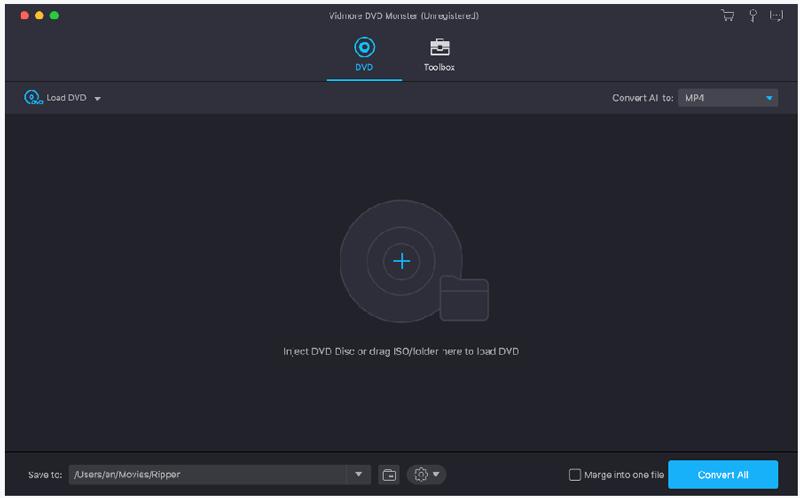 Vidmore DVD Monster for Mac full screenshot