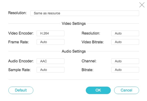 Adjust video and audio settings