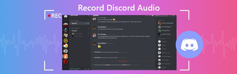 Enregistrement audio Discord