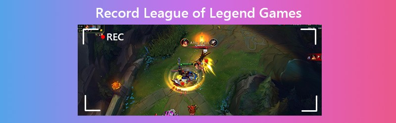 Record League of Legends Games