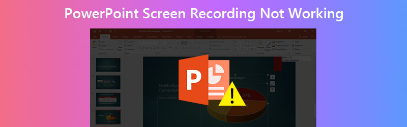 PowerPoint screen recording is not working