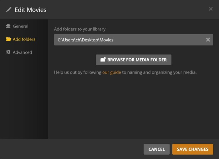 Copy DVD with Plex
