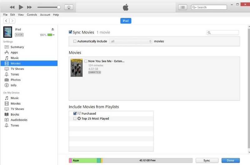 Import the Ripped DVD Movies to iTunes