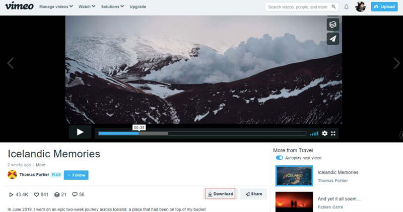 Download Vimeo Videos Authorized for Download