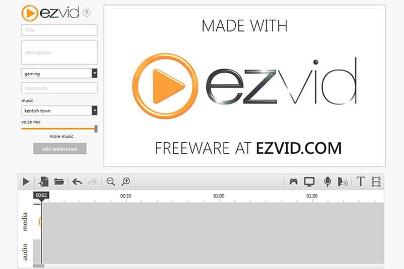 Ezvid HD Screen Recorder