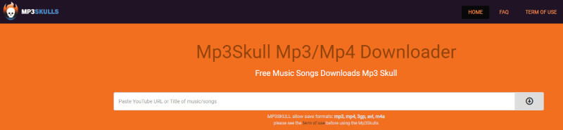 MP3Skull MP3 MP4 Downloader