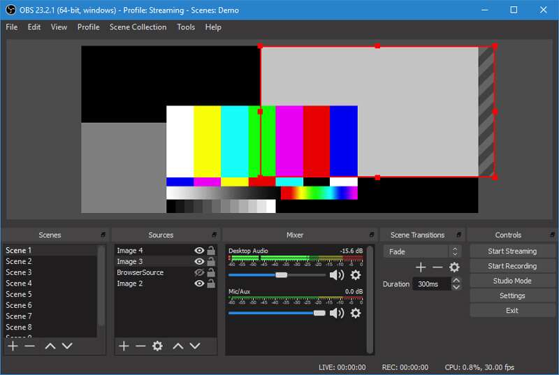 OBS HD Screen Recorder