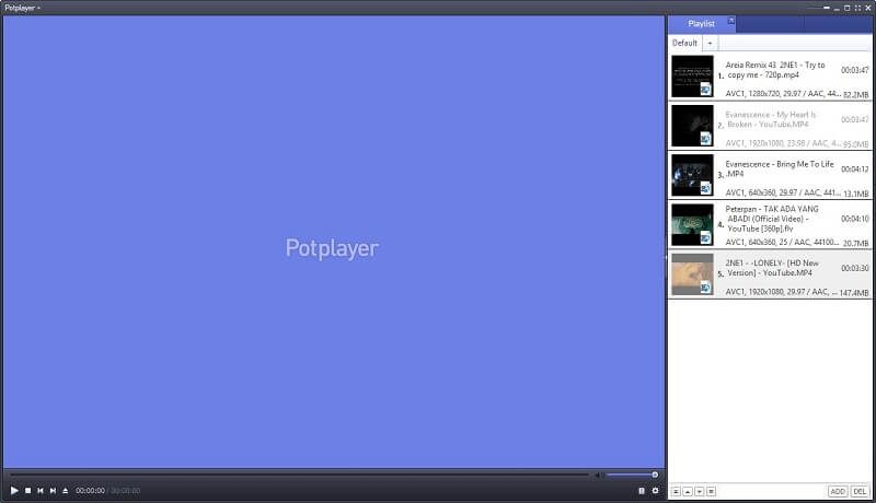 Potplayer Blu-ray