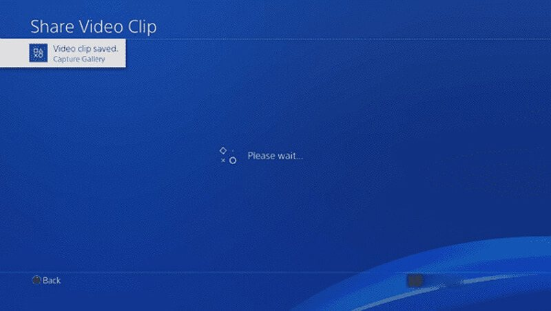 PS4 Save Video Clip