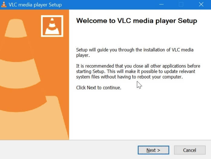Reinstall the Latest VLC Media Player