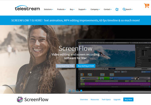 Screen flow