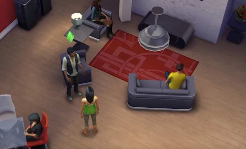 Screen Record on Sims 4
