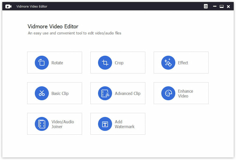 Vidmore Video Editor 1.0.6 Mac 破解版 视频编辑器