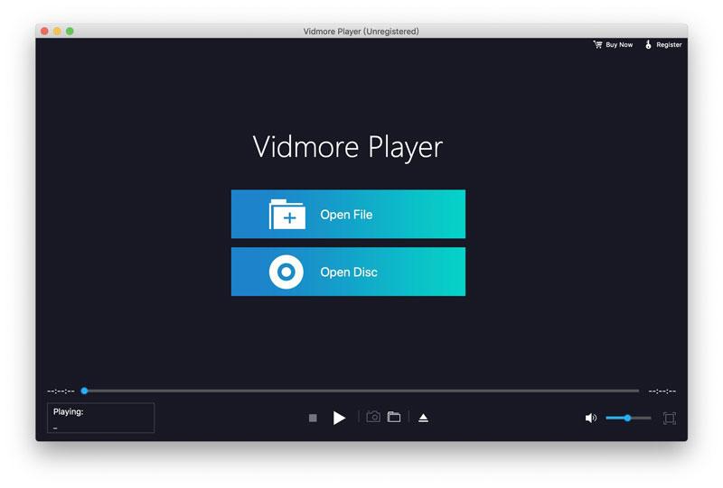 Vidmore Player for Mac full screenshot