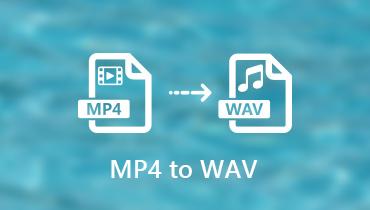 Konvertálja az MP4-et WAV-ba