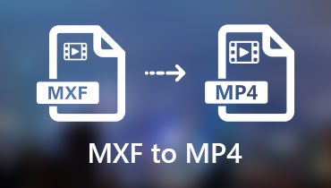 Convert MXF to MP4