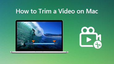 Trim en video på Mac