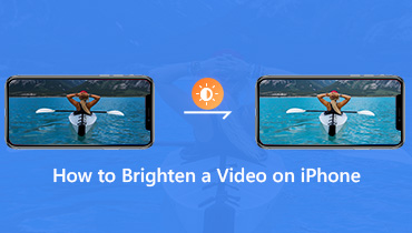 Brighten a Video on iPhone