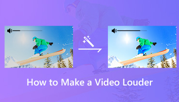 Increase Video Audio Volume