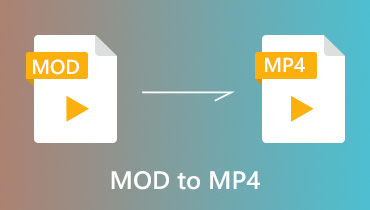 Convert MOD to MP4