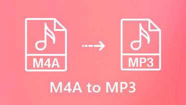 Ubah M4A ke MP3