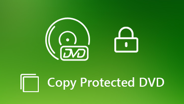 Copy Protected DVD Disc