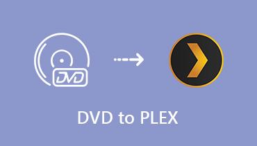 קרע DVD ל- Plex