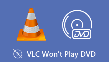 VLC Won't Play DVD