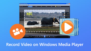 Spela in video på Windows Media Player