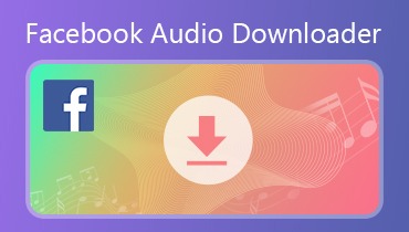 Descargador de audio de Facebook