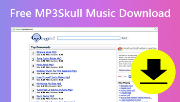 Descarga gratuita de música MP3Skull