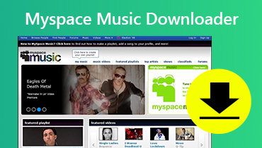 Descargador de música de Myspace