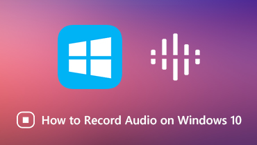 Grabar audio en Windows 10