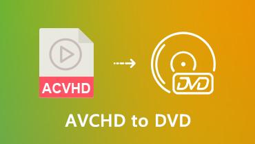 AVCHD pe DVD