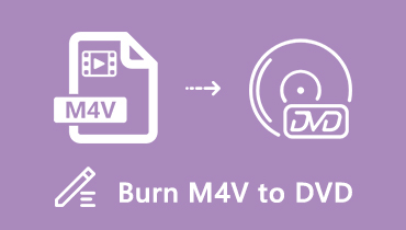 Burn M4V to DVD