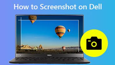 Screenshot maken op Dell