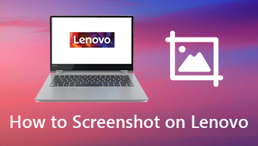 Cara Screenshot di Lenovo