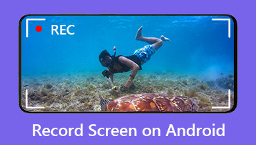 Record Screen Androidon