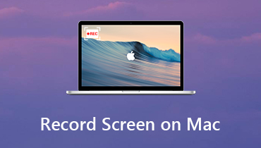 Enregistrer l'écran sur Mac