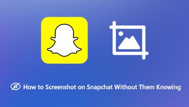 Снимок экрана Snapchat без их ведома