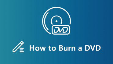 How to Burn a DVD