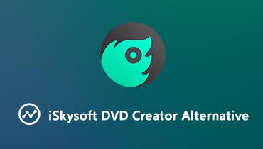 4 meilleures alternatives à iSkysoft DVD Créateur