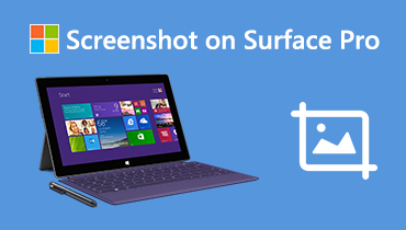 Screenshot di Surface Pro