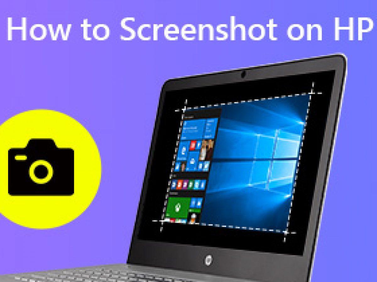 Screenshot auf HP Laptop machen - So geht es leicht