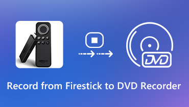 Spela in från Firestick till DVD-inspelare