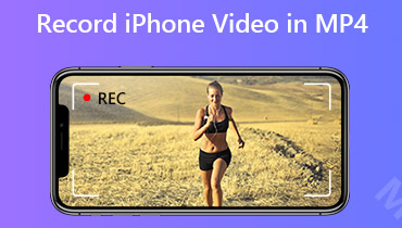 Spela in iPhone-video i MP4