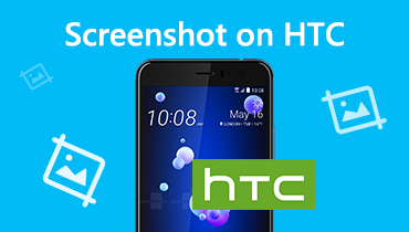 Take Screenshots on HTC