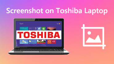 Screenshot on Toshiba Laptop