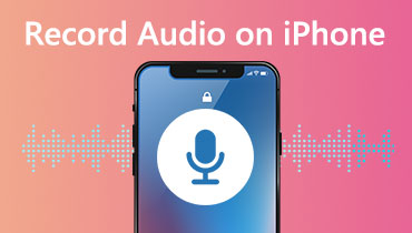 Grabar audio en iPhone