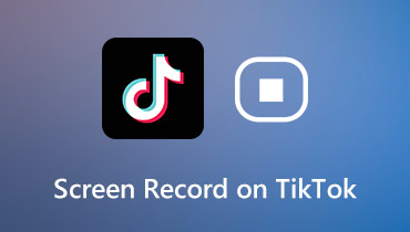 Screen Record in TikTok